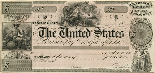 One-year Interest Bearing Note of 1837