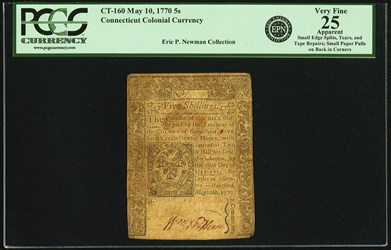 Eric P. Newman Collection (Internet Sale 2)
