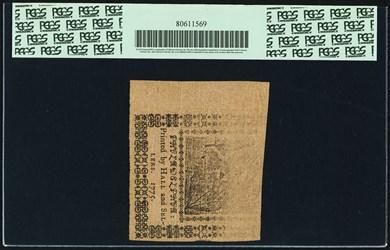 May 10, 1775 $1