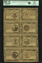 February 17, 1776 Sheet