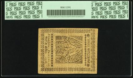 July 22, 1776 $3