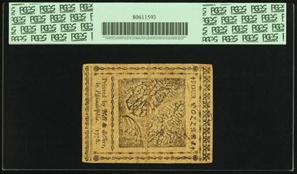 July 22, 1776 $4
