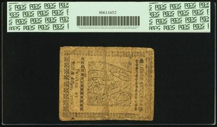 February 26, 1777 $3