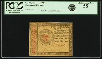 January 14, 1779 $4