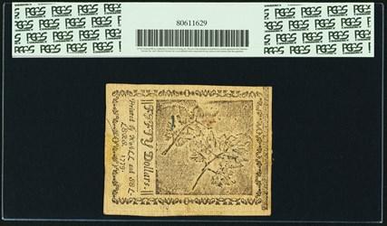 October 10, 1771 $50