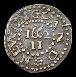 1662 Oak Tree 2 Pence, Large 2