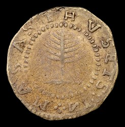 1652 Pine Tree Shilling, Large Planchet, No Pellets