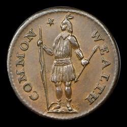 1787 Massachusetts Half Cent, BN