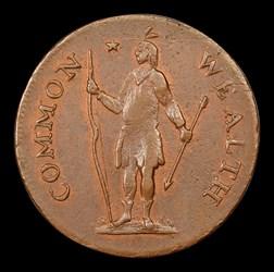 1787 Massachusetts Cent, Arrows in Right Talon, BN