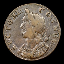 1786 Connecticut Copper, Hercules Head, BN