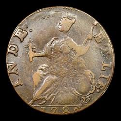 1786 Connecticut Copper, Hercules Head, BN