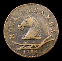 1788 New Jersey Copper, Head Left, BN