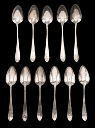 Ephraim Brasher Spoons