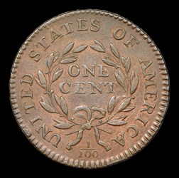 1795 1C S-75 Lettered Edge, BN, MS