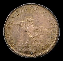 1792 Half Disme, Judd-7, Pollock-7, R.4