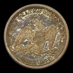1843-O 25C Large O, FS-501, MS