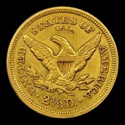 1848 $2 1/2 CAL.