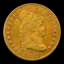 1795 $5 Small Eagle, BD-3
