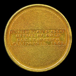 1853 Assay Office Twenty Dollar, 900 Thous.