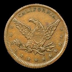 1849 Miners Bank Ten Dollar