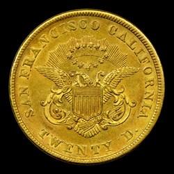 1855 Kellogg & Co. Twenty Dollar