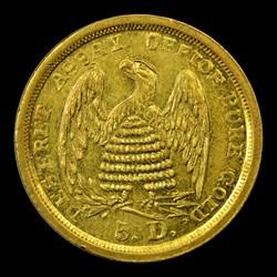 1860 Mormon Five Dollar