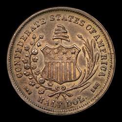 1861 50C Restrike