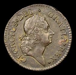 1722 PENNY Rosa Americana, UTILE, MS