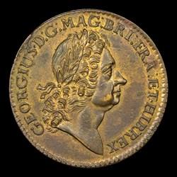 1723 Rosa Americana Twopence, BN