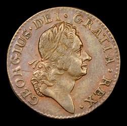 1724 Hibernia Farthing, BN