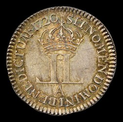 1720-A 20 Sols French Colonies, MS