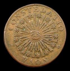 1785 Nova Constellation Copper, Blunt Rays, BN