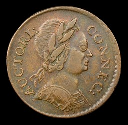 1785 Connecticut Copper, Bust Right, BN