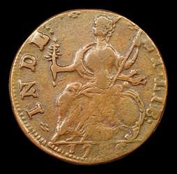 1786 Connecticut Copper, Draped Bust Left, BN