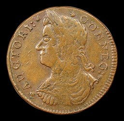 1787 Connecticut Copper, ETLIR, BN
