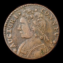 1788 Connecticut Copper, Mailed Bust Left, BN