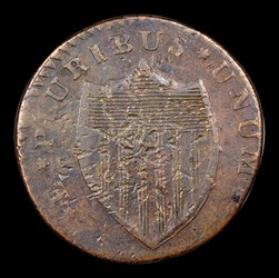 1786 New Jersey Copper, Bridle, BN