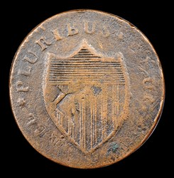 1787 New Jersey, Deer Head, BN
