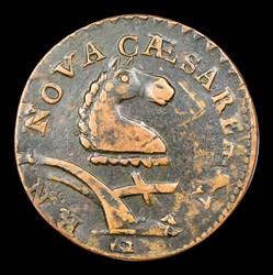 1787 New Jersey Copper, Camel Head, BN