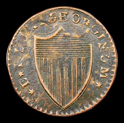 1787 New Jersey Copper, Camel Head, BN