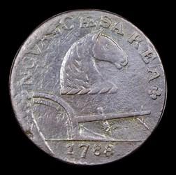 1788 New Jersey Copper, Running Fox, BN