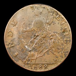 1788 Vermont Copper, Bust Right, BN