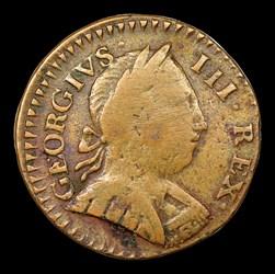 1788 Vermont Copper, GEORGIVS III REX, BN