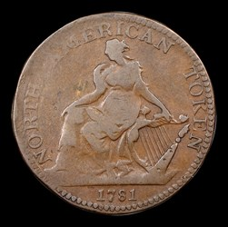 1781 North American Token, BN
