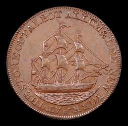 1795 Talbot, Allum, & Lee Cent, BN