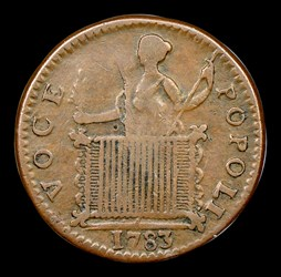 1783 Georgivs Triumpho Token, BN
