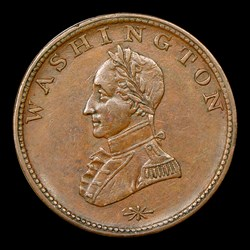 DBLD HEAD Washington Double Head Cent, BN