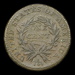 1793 Wreath 1C S-8 Vine and Bars Edge, BN, MS