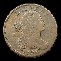 1796 1C S-104 LIHERTY, BN, MS