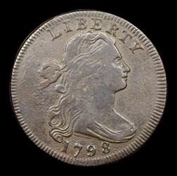 1798 1C S-155 Reverse of 1796
